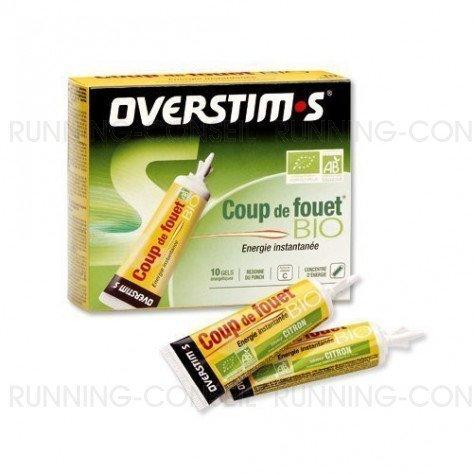 Coup de fouet bio citron Overstim's - Gels énergétiques