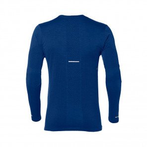 ASICS Tee-Shirt manches longues sans coutures homme | Mako blue