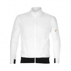ASICS Veste METARUN Homme | Brilliant White | Collection Printemps-Été 2019