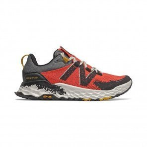NEW BALANCE Fresh Foam Hierro v5 Femme | Toro Red with Black & Chromatic Yellow