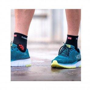 COMPRESSPORT Chaussettes PRO RACING SOCKS V3.0 RUN HIGH | Noir