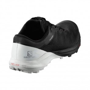 SALOMON SENSE PRO 4 Homme | Black / White / Cherry Tomato