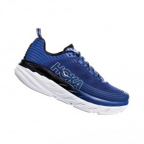 HOKA BONDI 6 Homme | Galaxy Blue / Anthracite