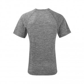 RONHILL T-SHIRT MANCHE COURTE MOMENTUM S/S Homme | MULBERRY/GREY MARL